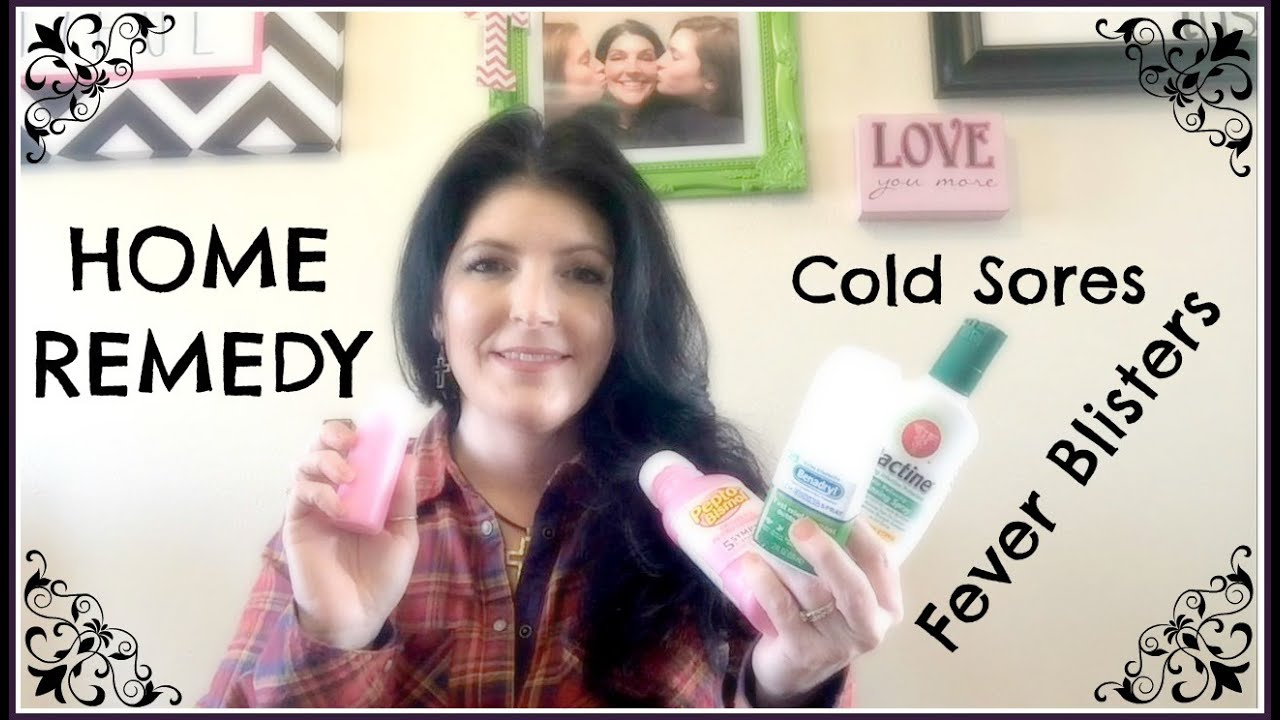 Home Remedy to Get Rid of Cold Sores Fast!