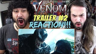 VENOM - Official TRAILER 2 - REACTION!!!
