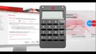 Sparkasse Neuss - Überweisung mit chipTAN (manuelles Verfahren)