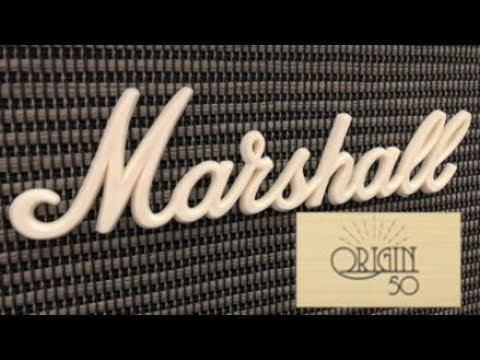 Marshall code 50 watt unboxing sounds samples youtube.