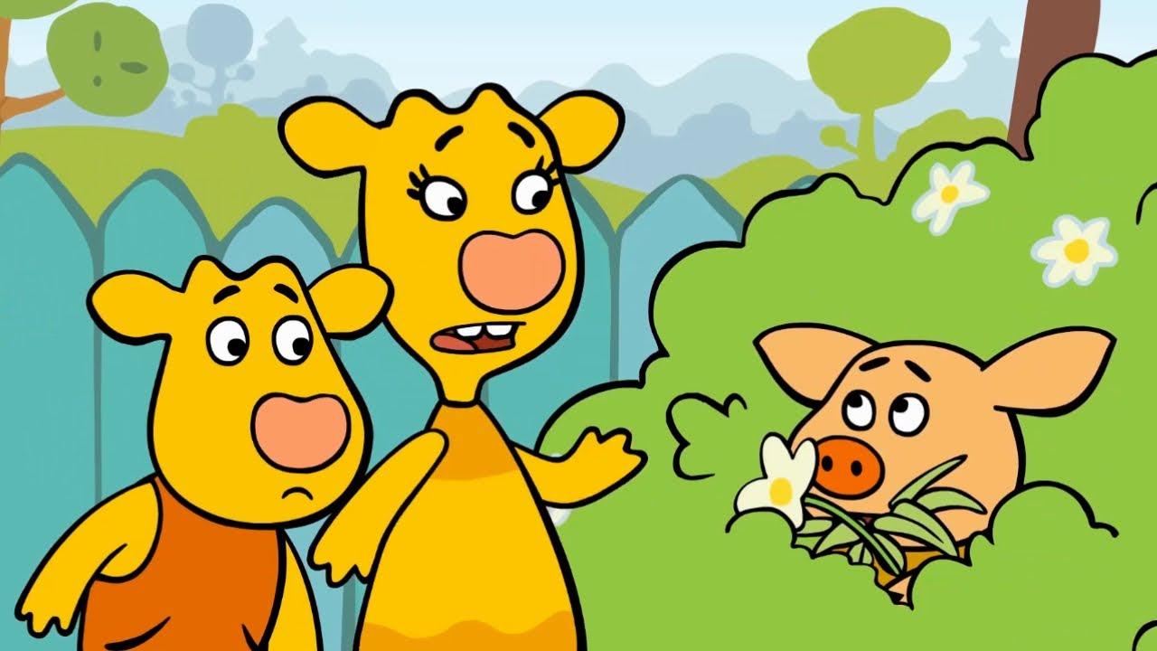 Оранжевая Корова - Сборник серий 4-6 - Смешные мультики для детей