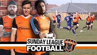 Sunday League Football - BACKS AGAINST THE WALL