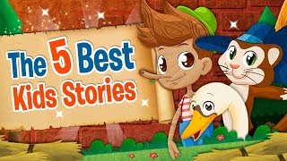 THE 5 BEST KIDS STORIES AND FAIRY TALES #ReadAlong | Clap clap kids