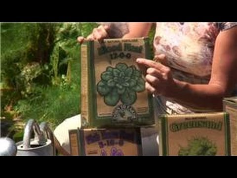 Maintaining Your Garden : Garden Fertilizer Tips