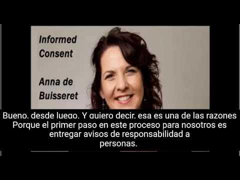 Consentimiento informado - Anna de Buisseret