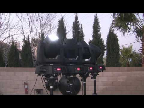 ADJ Vizi 5R Beams in action with DJ Mikey Mike Demo Style