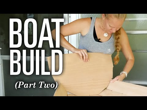 Emily Builds a Sailboat! (Part 2) - CLC Eastport Nesting Pram