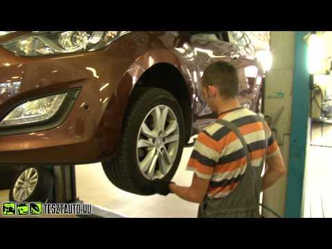 www.tesztauto.hu Hyundai i30 Wagon CRDi szervizl togat s