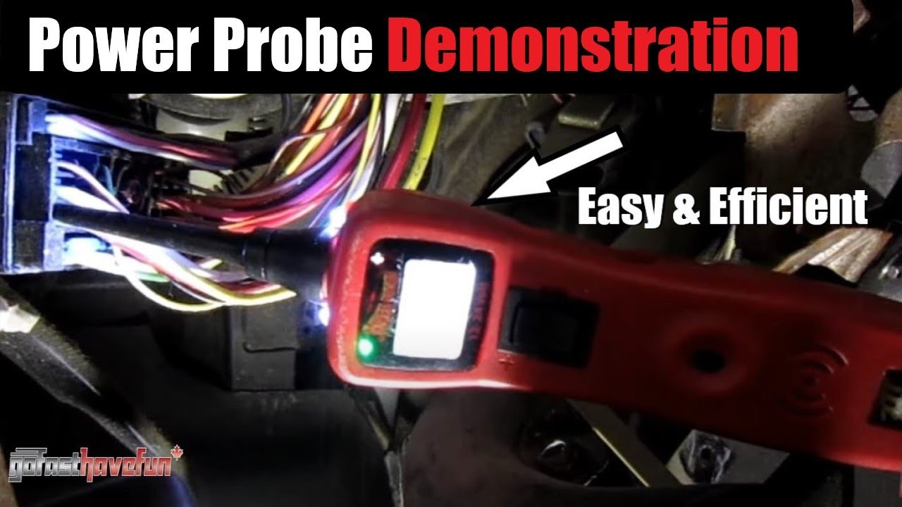 Power Probe 3 Demonstration 12 Volt Diagnostic Tool Anthonyj350 Electrical Wiring In The Home Replace Wire Dryer Cord With 4 Youtube