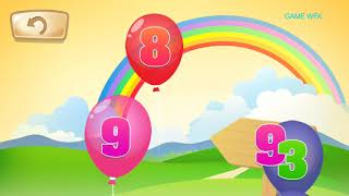 game bé học số đếm tiếng anh#Baby games learn English counts#16082018#GAME Wfk