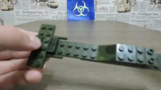 Скачать Как собрать военный вертолёт из конструктора лего