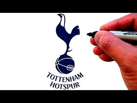 How To Draw The Tottenham Hotspur F C Logo Youtube