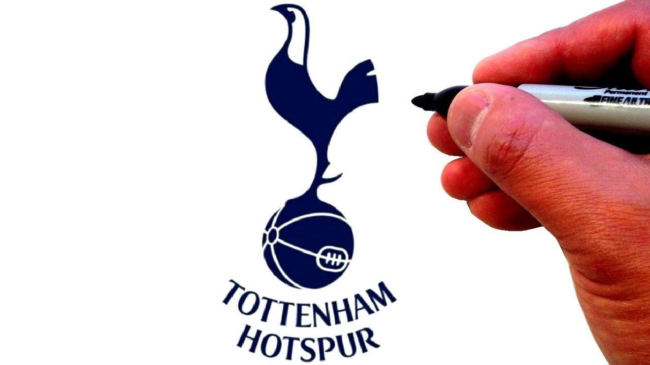 How To Draw The Tottenham Hotspur F C Logo Youtube
