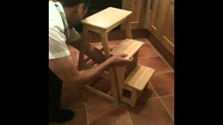 Folding Kitchen Step Stool