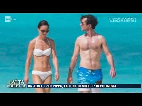 Pippa Middleton e James Matthew, luna di miele in Polinesia - La Vita in Diretta 01/06/2017