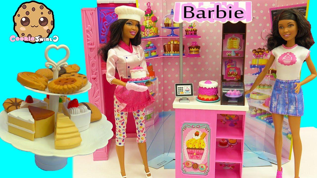 Game Barbie Cake Shop