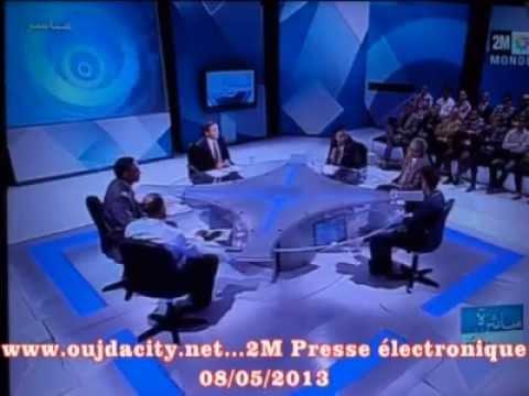 oujdacity.net / débat sur la La presse électronique a 2M oujda/maroc