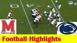 Maryland Vs Penn State Football Game Highlights 11 7 2020