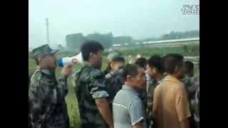 河南许昌市东城区大张村千人暴力征地