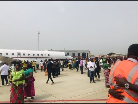 The Moment the First Flights Arrived Bayelsa International Airport