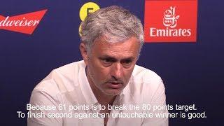 Jose mourinho - 'don't judge manchester united season on fa cup final'