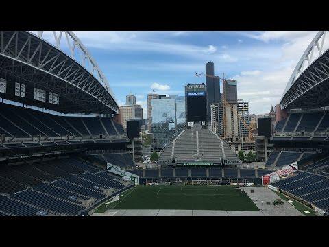 Muir on tour -EP 6- Tour of Seattle Seahawks stadium!