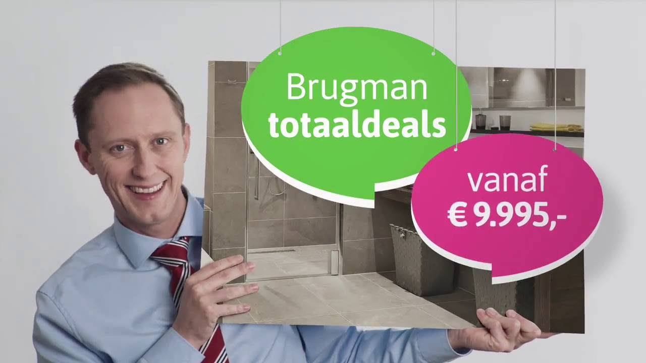 Brugman Badkamer TotaalDeals - YouTube