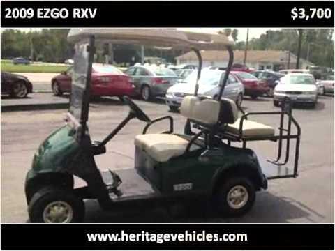 2009 Ezgo Rxv Used Cars Farmington Palmyra Canandaigua