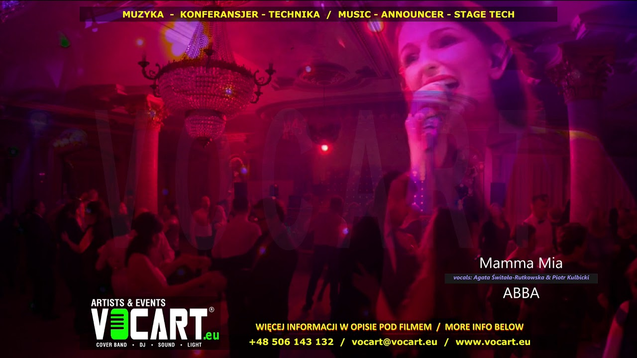VOCART Demo Mix - Cover Duo & DJ Live - fragmenty 21 utworów na żywo - polecany na Wesele Sylwestra