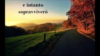 Alessandra Amoroso - Sul ciglio senza far rumore (Testo/Lyrics)