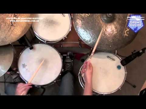 Drumsonline #4 | Fernando Martinez | Setup Fills 3/4