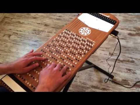 Bohemian Rhapsody (Queen) on Harpejji G16 by Mathieu Terrade.