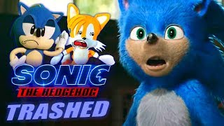 SonicWhacker55 - Sonic The Hedgehog TRAILER Trashed!!