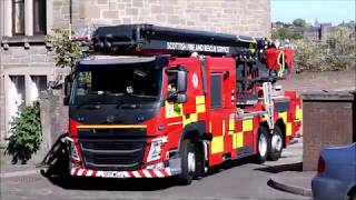 Scottish Fire and Rescue Service Blackness Road Open Day Turnouts