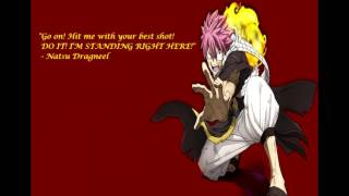 Bad-ass Anime Quotes. HD