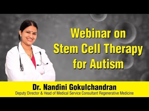 Webinar on Stem Cell Therapy for Autism & Other Neurological Disorders