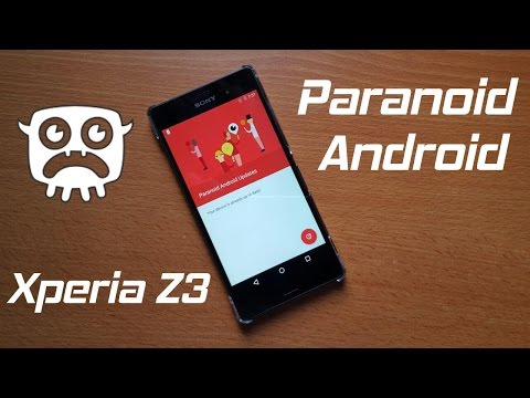 Paranoid Android on Sony Xperia Z3