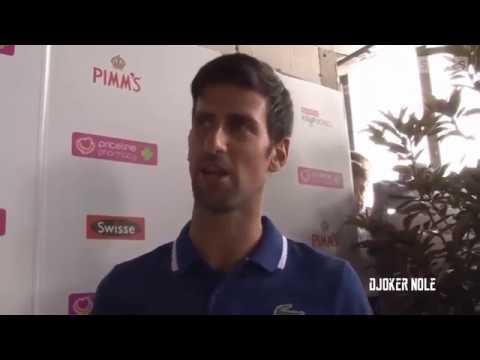 "Novak Djokovic ""Federer & Nadal are two biggest favorites"" - Australian Open 2018 (HD)"