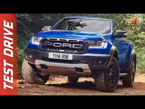 NEW FORD RANGER RAPTOR  - FIRST TEST DRIVE