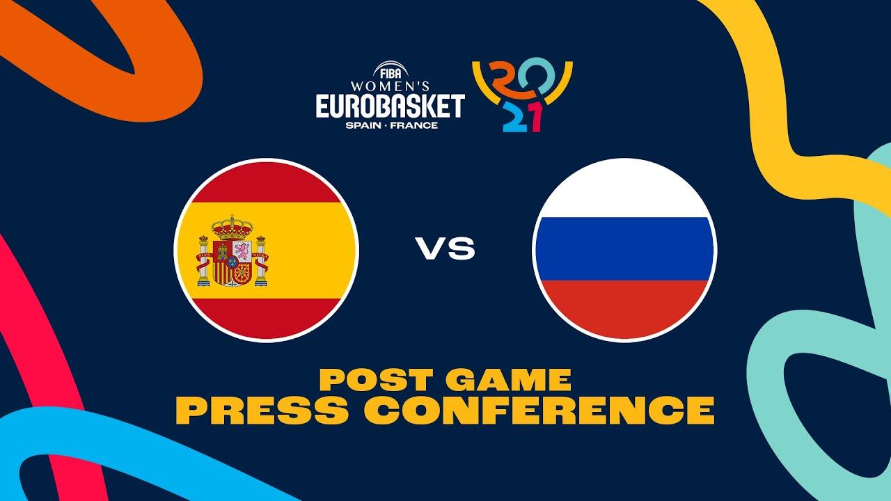 Spain v Russia - Press Conference