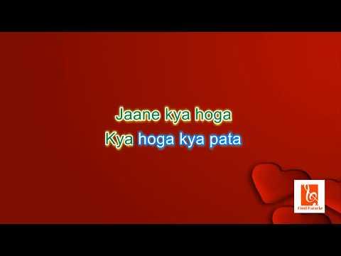 Pehli Nazar Mein-Atif AslamRace  Karaoke With Lyrics