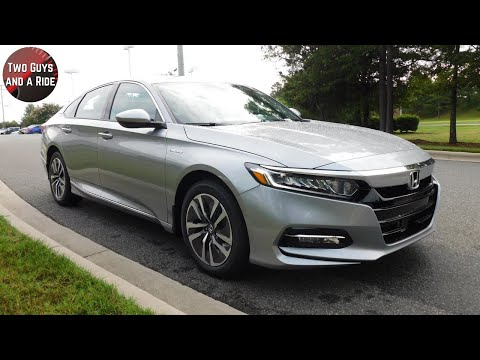 2019 Honda Accord Hybrid Gas Mileage vs Gasoline only Mileage