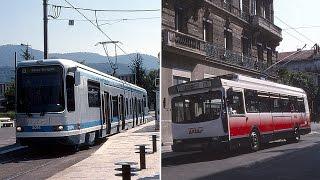 Grenoble Tram + Trolleybus - 1992 &1993