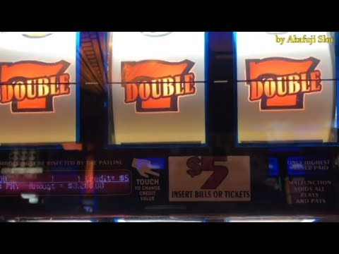 Handpay Jackpot Live😍Double Gold - $5 Slot Machine, RED ALERT - $1 Slot On Free Play, 赤富士スロット, カジノ