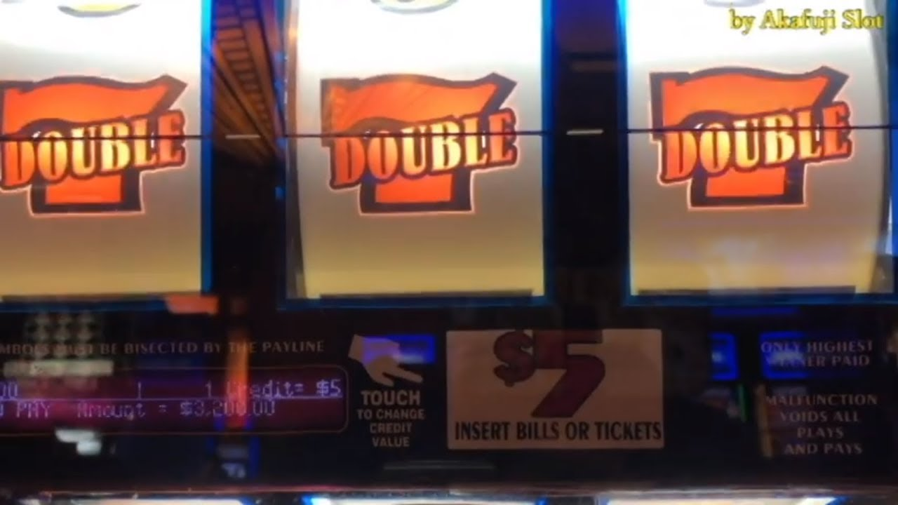 Hand Pay Jackpot Live 5 Slot Double Gold Slot Machine Red
