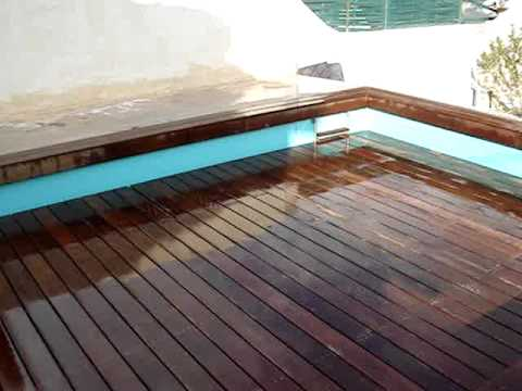 piscine fond mobile youtube. Black Bedroom Furniture Sets. Home Design Ideas
