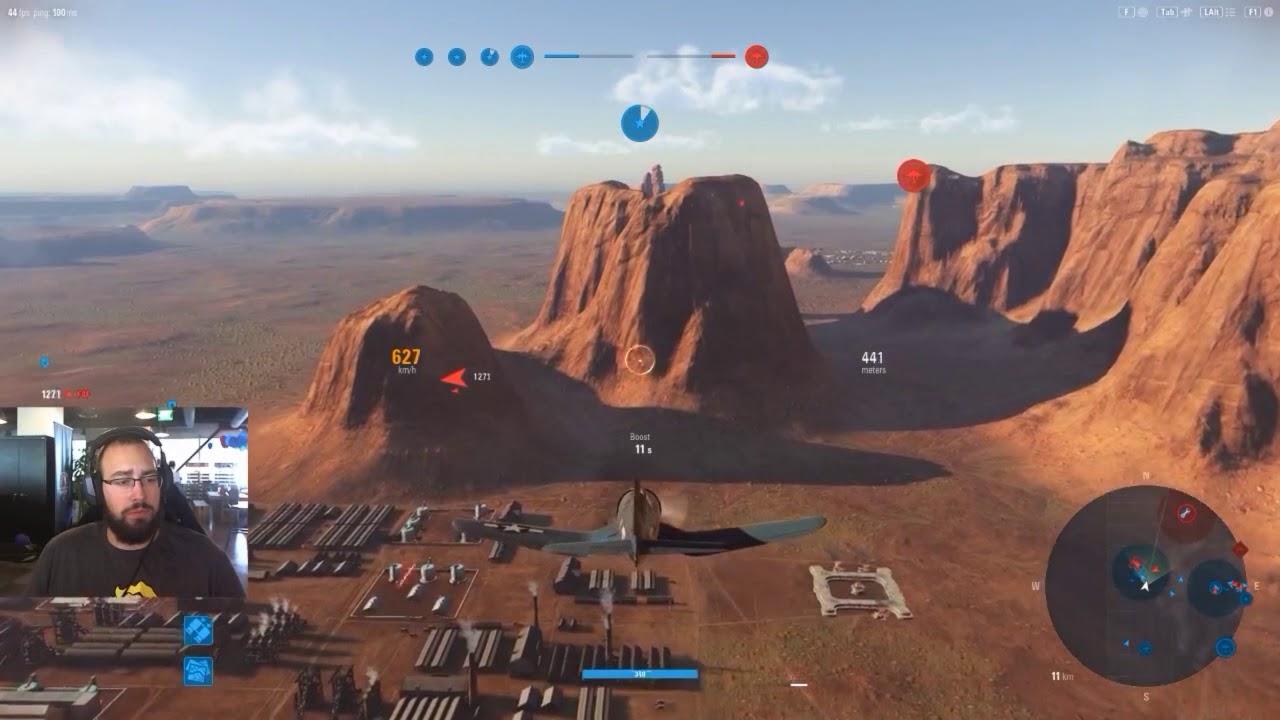 World Of Warplanes Live Gameplay 10 With Meatheadmilitia Youtube