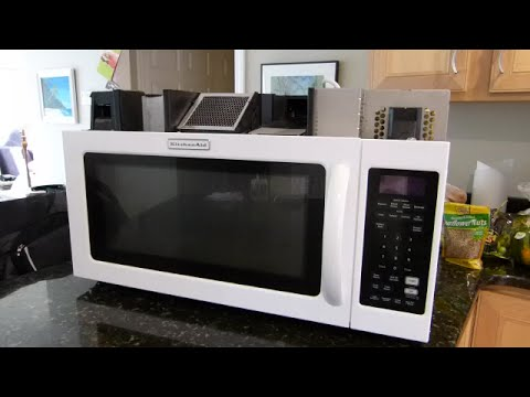Kitchen Aid Microwave Not Heating Food Repair Highlights