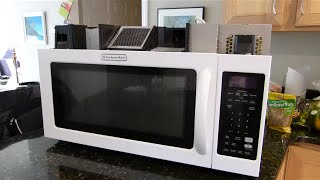 Kitchen Aid Microwave Not Heating Food Repair Highlights - KitchenAid KHMS2040WWH