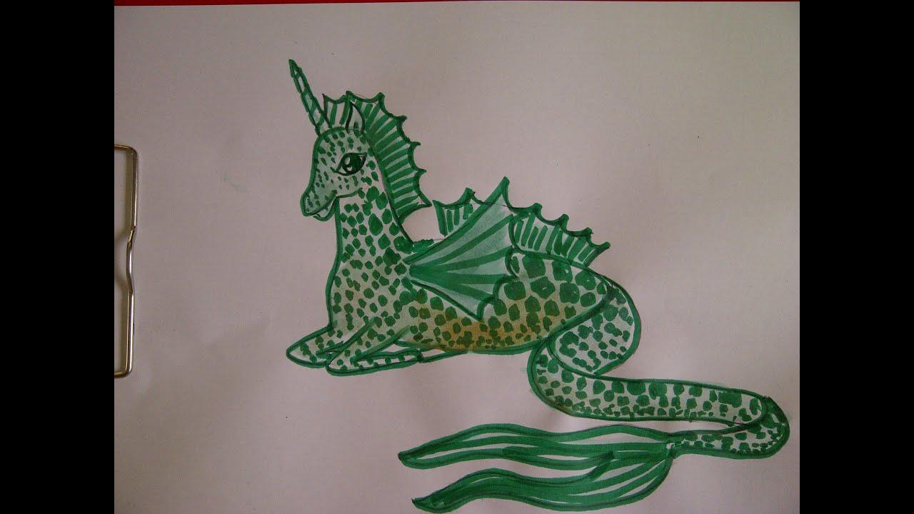 Cómo Dibujar Un Unicornio De Agua Mia Y Yo Mia And Me Desenho